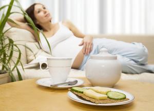 Výživa během těhotenství