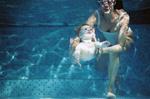 Plavání miminek