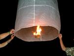 Létající lucerny - nezapomenutelný zážitek