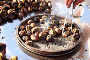 Jak připravit pečené kaštany