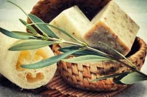 Dopřejte si luxus v podobě olivového mýdla