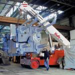 Využití minijeřábů není zdaleka omezeno pouze na stavební průmysl
